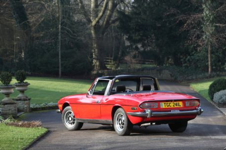 Vintage Car Hire Specialists Add 1973 Triumph Stag To Their Collection
