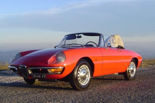Alfa Romeo Classic Car Hire Hchg