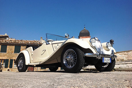 Classic Car Hire In Europe