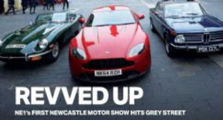 Northumbria Classic Car Hire - Cars Star At Newcastle Motor Show